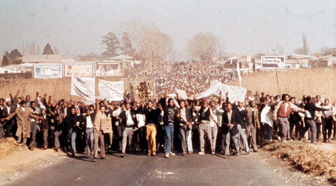 Youth uprising in 1976